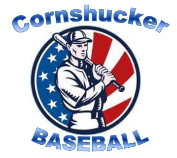 Cornshucker Baseball Logo
